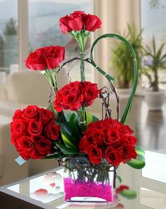 valentines arrangements - Google Search