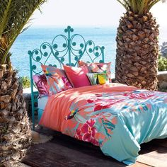1000 images about housses de couette tropicales on pinterest tropical tropical paradise and. Black Bedroom Furniture Sets. Home Design Ideas