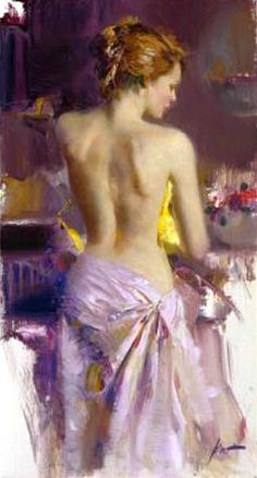 The Pose by Pino Daeni
