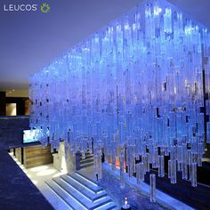 Leucos #Reed by Patrick Jouin Project for Grischa - DAS Hotel Davos Davos, #Switzerland Architect: Fischbach & Aberegg #Leucosproject