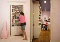 secret room - I would have loved this as a kid.