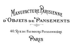The Graphics Fairy - DIY: DIY Transfer Project & Paris Address Printable