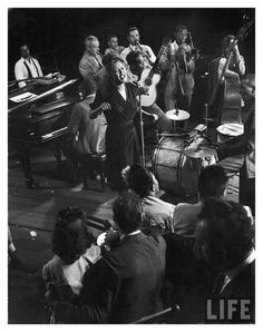 jam session with billie holiday