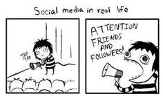 funny, funny pictures, funny photos, hilarious, comic, social media explained, facebook, twitter, Social Media in Real Life