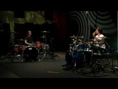 "Angels and Airwaves ""Heaven"" dueling drum cover with Atom Willard and Cobus Potgieter  (Wow! Exhilarating!)"