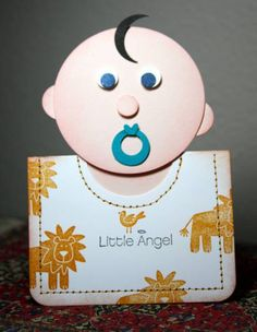 Baby Boy Gift Card Holder by CAKath - Cards and Paper Crafts at Splitcoaststampers