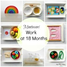Montessori Work at 18 Months