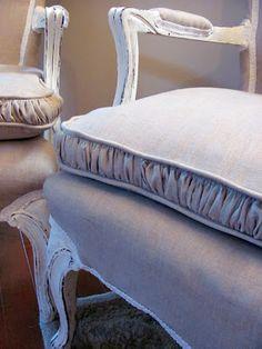 Pretty chair cushions