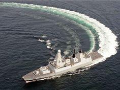 Daring class destroyer - Royal Navy