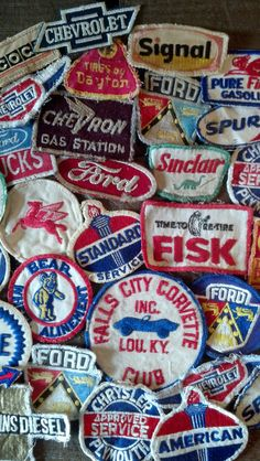 Great Vintage Patches!!