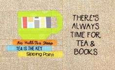 This mug mat is a perfect gift to make for that person in your life who loves tea and books! Because the pattern uses a foundation paper piecing technique to assemble the cup and books, this is appropriate for an intermediate sewist. House Quilt Block, House Quilts, Quilt Blocks, Sewing Crafts, Sewing Projects, Teacup Crafts, Table Runner And Placemats, Table Runners, Mug Rug Patterns