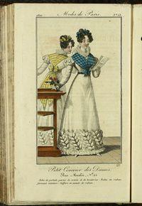 Petit Courrier des Dames : annonces des modes, des nouveautés et des arts del 31 de Mayo de 1822