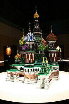 Lego Playmobil, Russia, Lego Castle, All Lego, Amazing Lego Creations, Lego Sculptures, Lego Boards, Toys, Lego Design