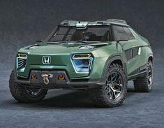 Honda Ridgeline, Yanko Design, Automotive News, Cool Cars, 4x4, Electric Pickup Truck, Video Games, Automobile, Steel