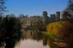 Warwick Castle, Warwick, England - Beautiful castle. Was so interesting to tour and had wax figures that were so life like!