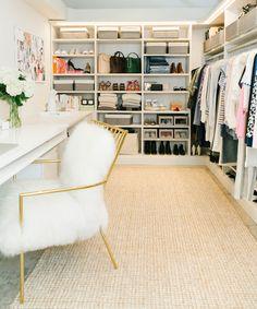 13 Enviable Closets From Pinterest | Kleiderschränke, Ankleidezimmer ...