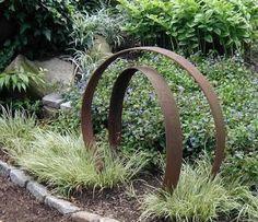 Image result for modern garden arch