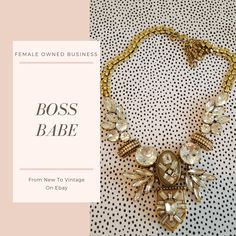 This necklace will perfect any outfit for any occasion. It would be show-stopping with a wedding dress.  #Femaleownedbusiness#newyorkfashionweek #fashion#chic #bossbabe #Jcrew #fashionblogger  #classic #timeless #forsale #ebay #aesthetic #femaleentrepreneur #shopping #shop #aesthetic #artistic #art #artform #beauty #jewelry #bridal
