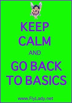 Back to Basics Missions | FlyLady.net