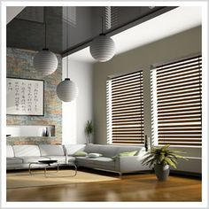 Timber Venetian Blinds Timber Venetian Blinds are a classical, refreshing and natural alternative for both modern and traditional architecture. Providing warmth that will add real value to your home, Timber Venetian Blinds combine the versatility and light control of a Venetian blind with the richness of real timber.