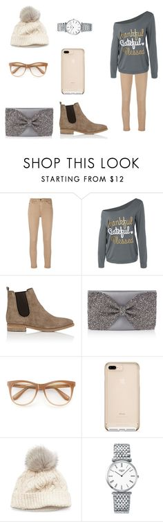 """Happy thanksgiving!"" by kayleighfawn ❤ liked on Polyvore featuring AG Adriano Goldschmied, Barneys New York, Wildfox, SIJJL and Longines"
