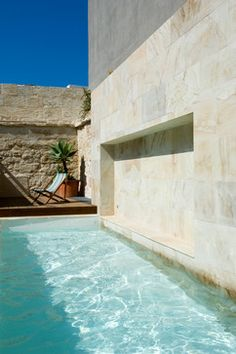 Home in Water contemporary-pool