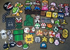 Mario Perler Project by ROFL - Kandi Photos on Kandi Patterns