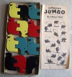 vintage stacking toy