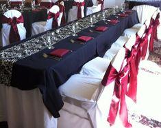 Navy gold burgundy wedding decor elegant silver and maroon wedding theme gallery wedding decoration ideas Burgundy Silver Wedding, Maroon Wedding, Wedding Black, Fall Wedding, Black Weddings, 1920s Wedding, Winter Weddings, October Wedding, Navy Wedding Centerpieces