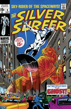 The Silver Surfer #1 - The Origin Of The Silver Surfer (Issue)