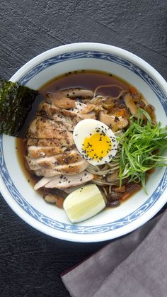 Take your ramen to the next level with this delicious overstuffed number! The post Chicken Noodle Ramen appeared first on Tasty Recipes. One Dish Meals Tasty Recipes Ramen Recipes, Asian Recipes, Chicken Recipes, Dinner Recipes, Cooking Recipes, Crockpot Recipes, Healthy Japanese Recipes, Breakfast Recipes, Breakfast Healthy