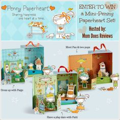 Enter to Win the Penny Paperheart Giveaway at Mom Does Reviews