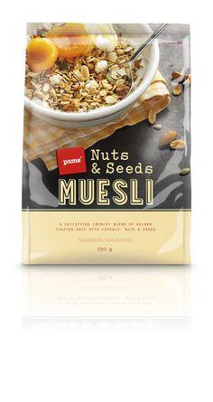 Pams muesli #packaging by  Brother Design Ltd.