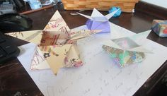 Star-boxes--click for earth-friendly crafts
