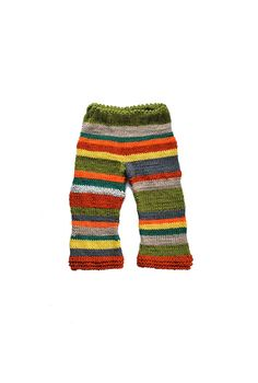 hand knitted baby hippie pants by SweetMeadowSweet
