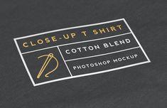 Medialoot - Close-Up T Shirt Mockup