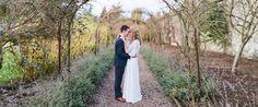 Bride & Groom portraits Larchfield Estate DIY Barn Wedding