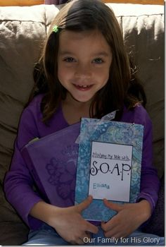 My SOAP Book - how to study the bible with kids.
