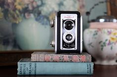 An antique camera! Learn how to throw a successful garage sale @BrightNest Blog