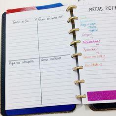 Bullet journal 2017 em caderno inteligente + freebie de controle de habitos - Atraves da linha
