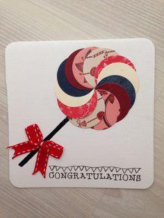Congratulations card (gefeliciteerd)