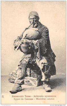 Thème Cornemuse - Bagpipes / Russie - Type Du Caucase - Musiciens Asiates