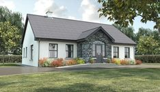Sample House Design – Irish House Plans Bungalows, with 45 Related files Bungalow Haus Design, Modern Bungalow House, Bungalow House Plans, Modern Bungalow Exterior, Bungalow Porch, Bungalow Ideas, House Plans Uk, Porch House Plans, Home Plans