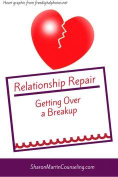 Ways To Help Get Over A Breakup