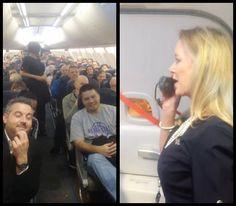 The funniest flight attendant speech EVER.