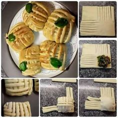 Decoration Patisserie, Food Decoration, Bread Recipes, Cooking Recipes, Pastry Design, Bread Shaping, Fingerfood Party, Bread And Pastries, Love Eat