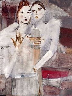 "Saatchi Online Artist Christina Marie; Painting, ""For Me It's You"" #art"