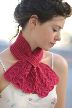 belle ascot - $5.00 : Quince and Company, American Wool Yarn PDF PATTERN