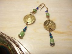 Check out this item in my Etsy shop https://www.etsy.com/listing/170876343/hand-madegold-peru-coin-dangle-earrings
