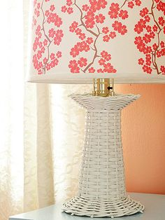 #BHG - Love this lampshade! So colorful and pretty!